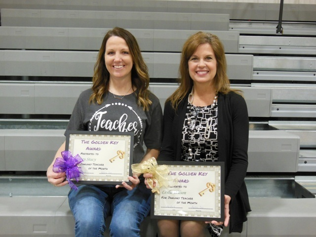 January Teachers of the Month