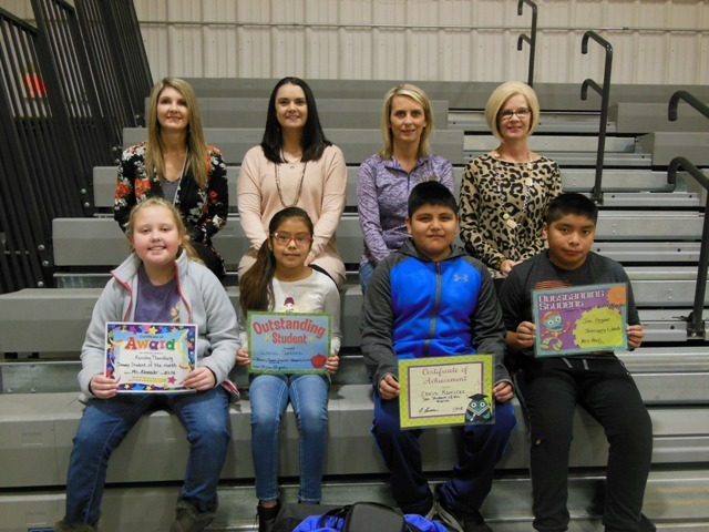 4th grade January Students of the Month